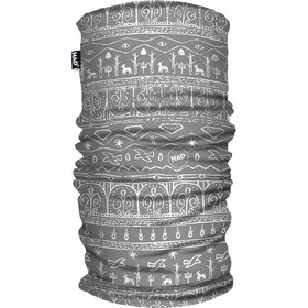 HAD Printed Fleece Ceinture chaude, babylon light grey